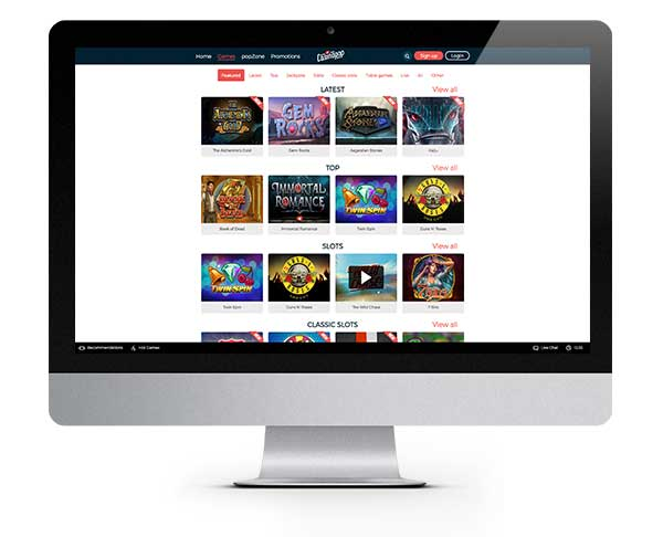 CasinoPop fast Payout